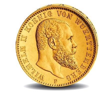 Deutsches Kaiserreich 10 Mark 1893 1913 Goldmünze König Wilhelm