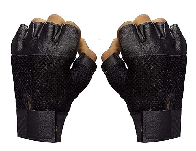 Buy Pathak Online Finger Cut Hand Gloves For Men And Women Winter Stylish,  Winter Hand Gloves For Men Sports   Black   at Amazon.in