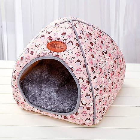 Roblue Mascotas Nest Desmontable Gatos Casa Perros Cueva ...