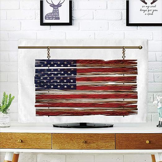 iPrint LCD TV cubierta de polvo, Primitive Country decoración, Big ...