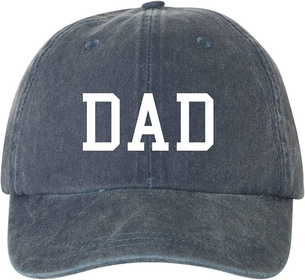 Navy and Red Pigment Dyed Ameritrends Mom and Dad Baby Announcement Dad Hat Cap Couples Hats New