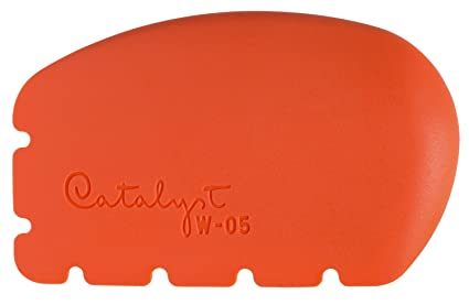 d627a63f63e88 Princeton Catalyst Silicone Wedges, for Artist Paint, Plaster, Clay and  Frosting, Wedge No. 5