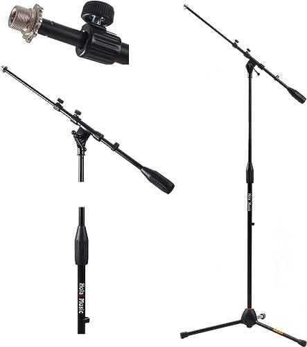 Hola! Music HPS-101TB Tripod Microphone Mic Stand Pack