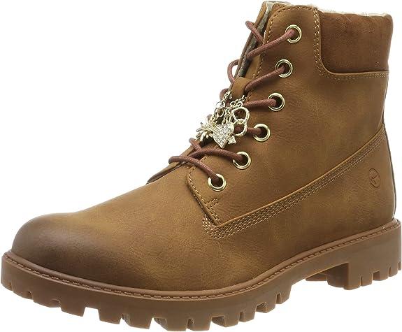 Tamaris 1-1-25283-23, Women's Combat Boots, Brown (Nut 440), 5 UK (38 EU),Tamaris,1-1-25283-23