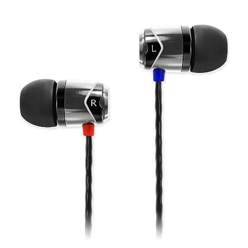 SoundMAGIC E10 Earphones - Silver/Black