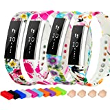 For Fitbit Alta HR and Alta Bands, TreasureMax Replacement Band for Fitbit Alta/ Fitbit Alta HR Wristband/ Fitbit Alta HR Accessory/ Fitbit Alta HR Band PACK 4