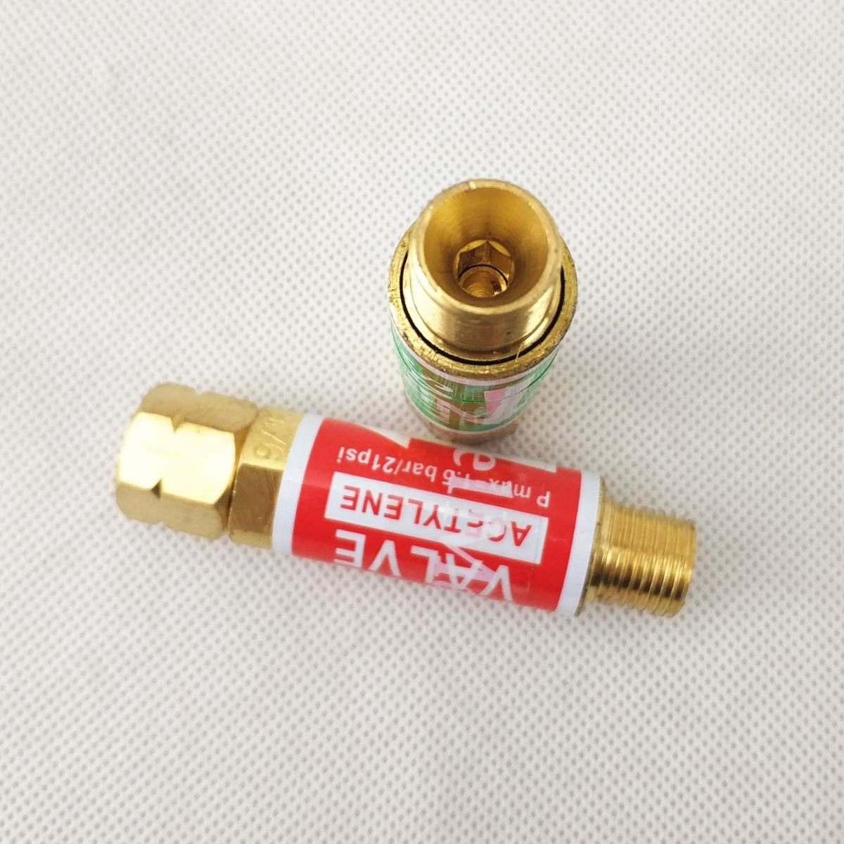 Flashback Arrestaurs Oxygen Acetylene//Combustible V/álvula de seguridad para llama Buster