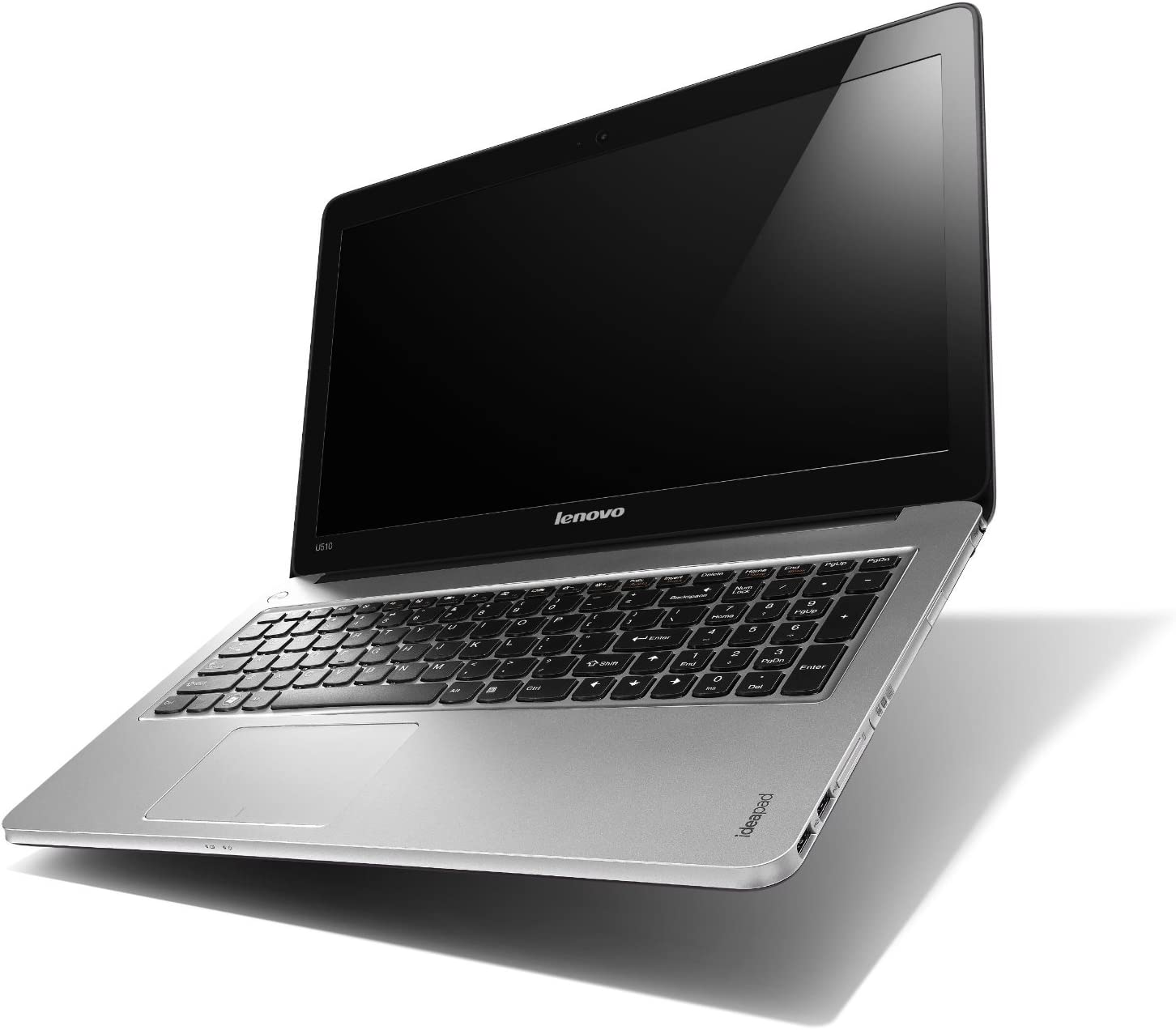 "Lenovo - IdeaPad U530 Touch Ultrabook 15.6"" Touch-Screen Laptop - 8GB Memory - 500GB Hard Drive - Silver/Black"