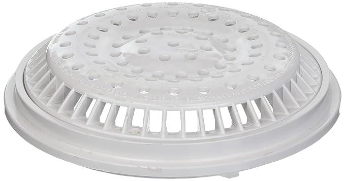 Amazon.com: Waterway 8 in. White Main Drain Anti Vortex Cover 640-2310V: Home & Kitchen