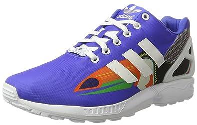 adidas Damen ZX Flux Sneaker  36 EUBlau / Wei?