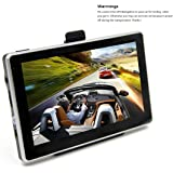 GPS Navigator, OUMAX GP50HD 5.0inch GPS Navigation System with Spoken Turn-By-Turn Directions, Preloaded USA, Canada, Mexico, Puerto Rico Maps Black/8GB Flash Memory/HD Display