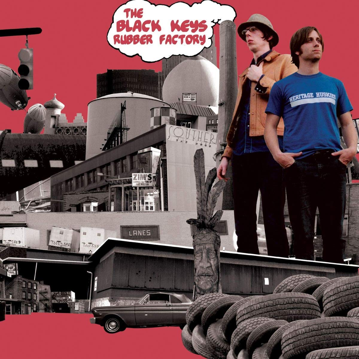 Rubber Factory [Vinyl] by black keys