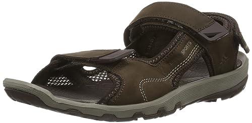 714557cc47 adidas Terra Sports Leather 2 D66454 - Sandalias de Cuero para Hombre