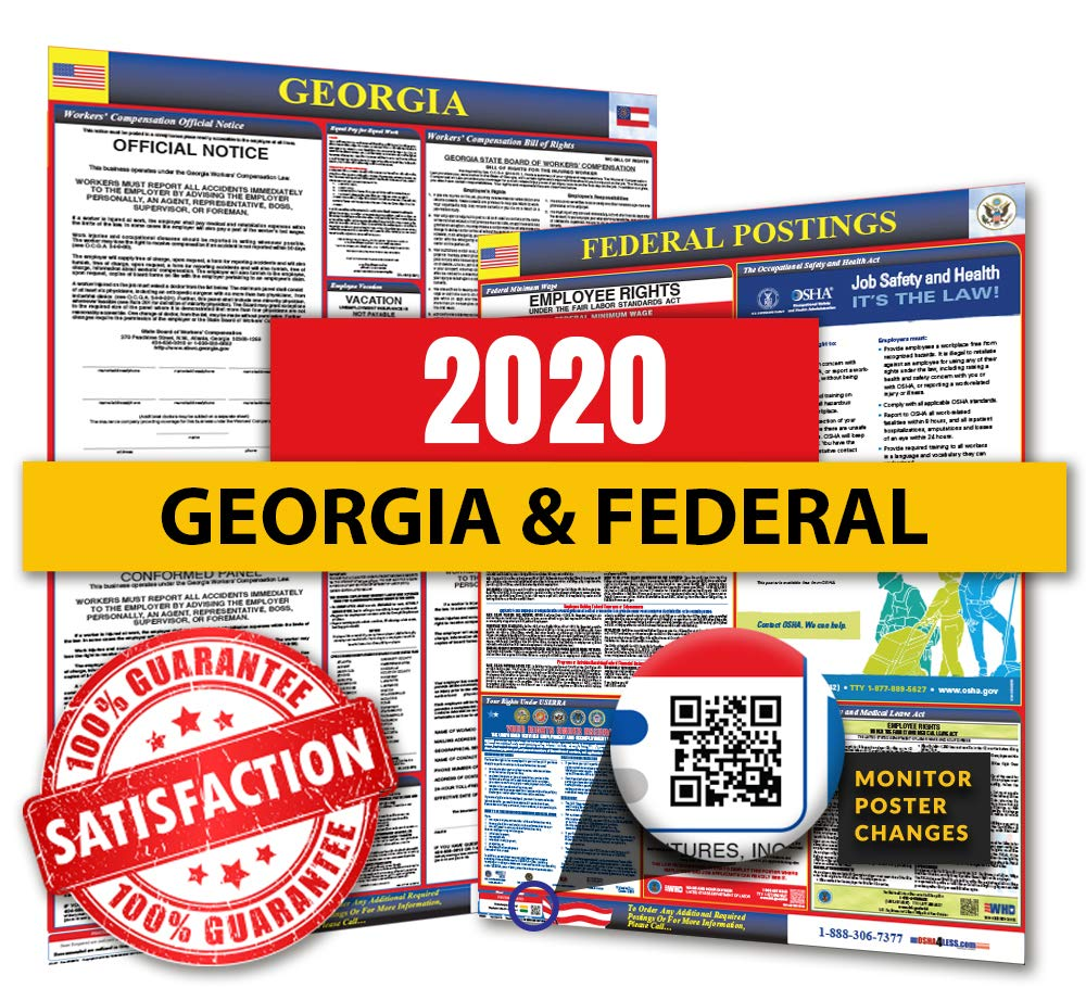 Georgia State Summer Classes 2020.2020 Georgia State Federal Labor Law Posters For Workplace Compliance