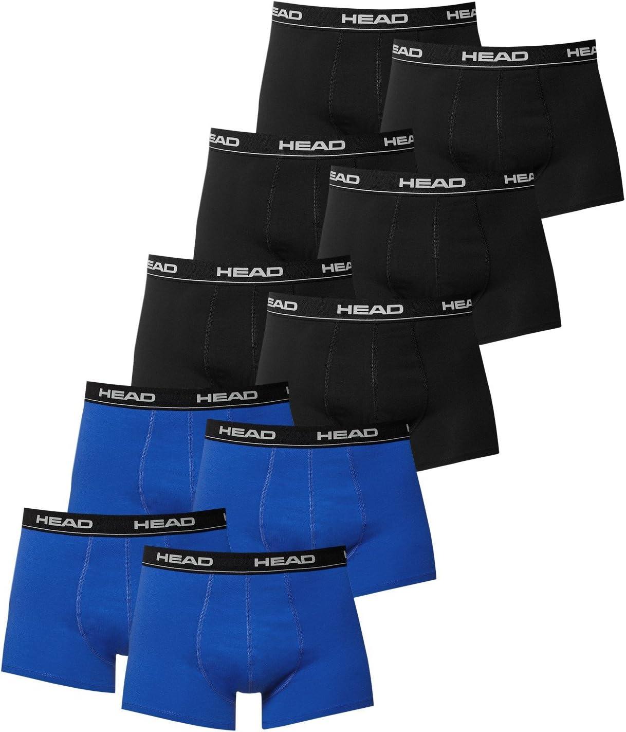 pacco da 10 pezzi Head uomo boxer intimo in diversi colori