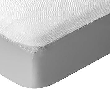 Pikolin Home - Protector de colchón termorregulador, impermeable y transpirable, 90 x 190/200 cm, cama 90 (Todas las medidas): Amazon.es: Hogar