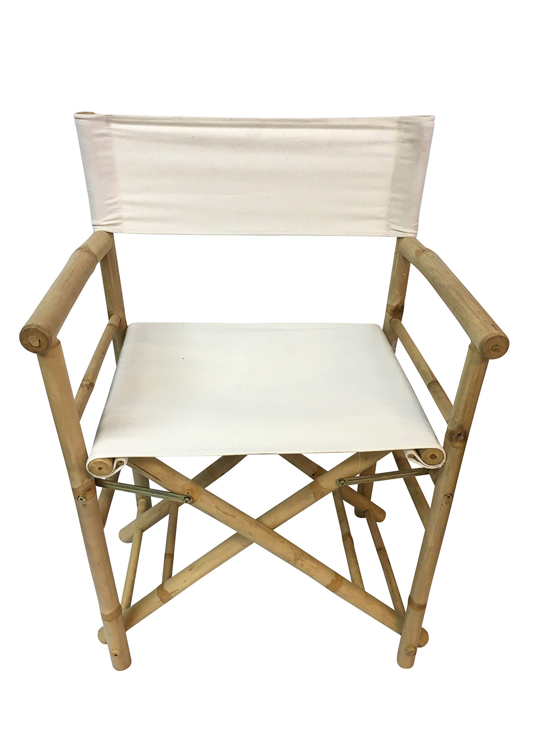 Master Garden Products Bamboo Director Chair, 35''H x 23''W x 19''D by Master Garden Products