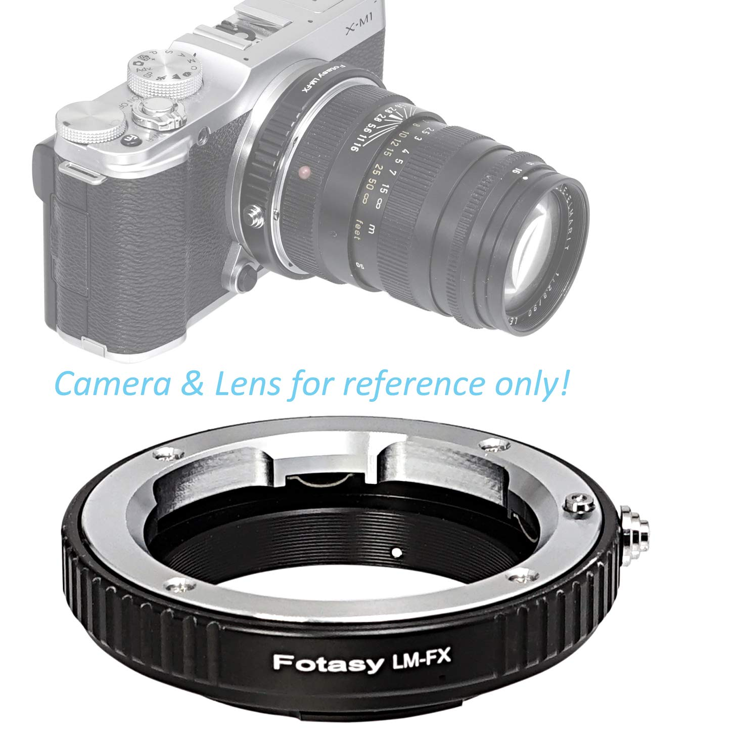 Adaptor for X-E1 Pro Leica M to Fuji X Mount Lens Adapter X-E2 etc X-Pro1