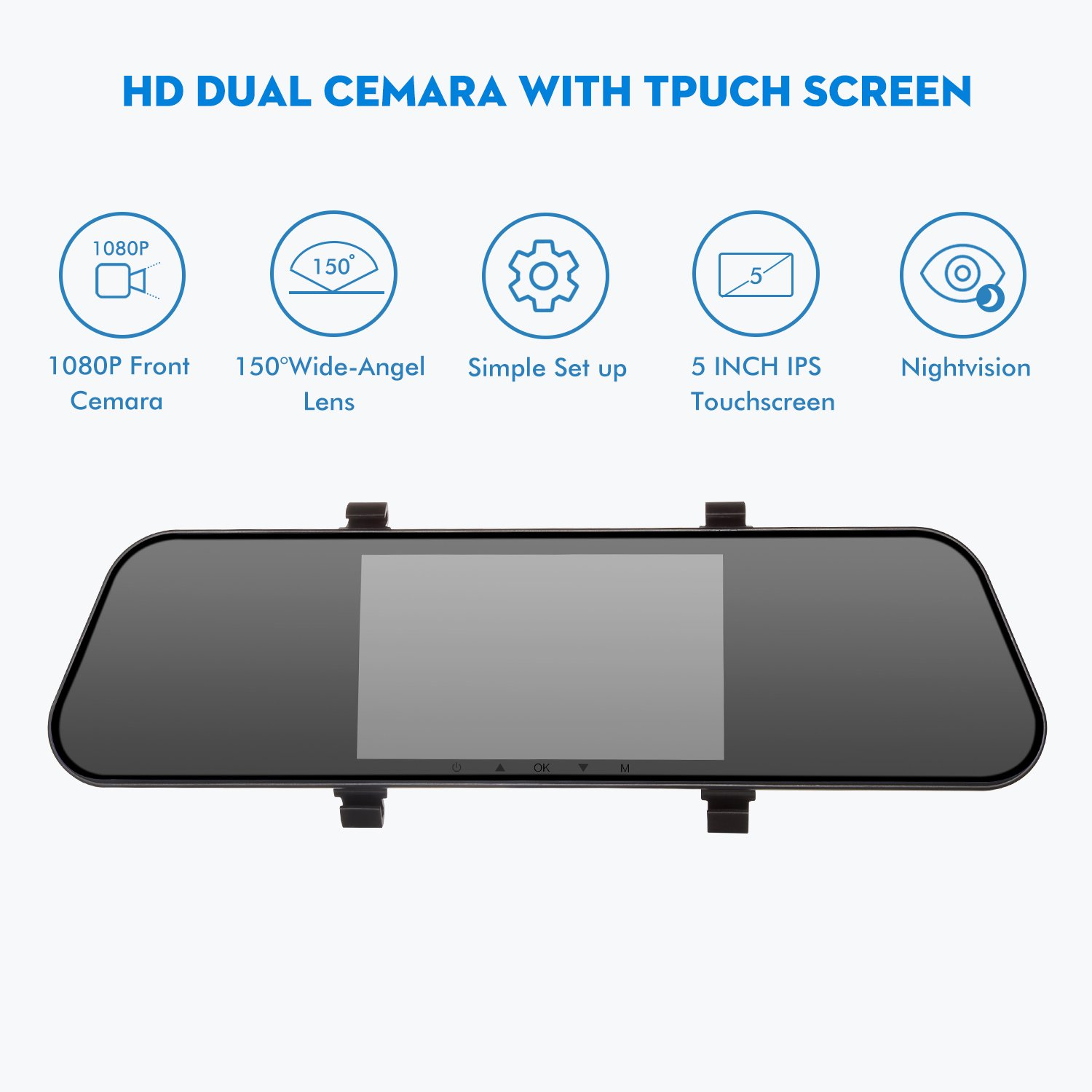 4-way Video Car Switch Parking Camera 4 View Image Split-screen Control Box Kits Elegant In Style Parts & Accessories