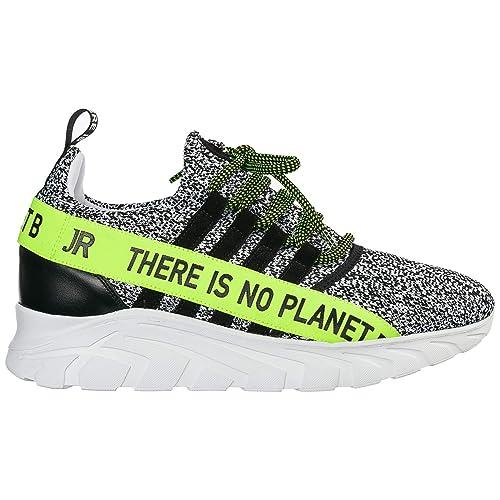 John Richmond No Planet B Zapatillas Deportivas Hombre Bianco: Amazon.es: Zapatos y complementos