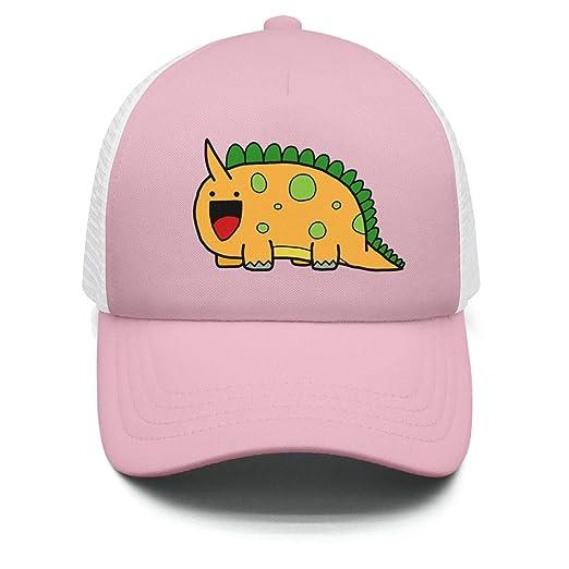 Cute Dinosaur Cartoon Kid Snapback Hats for Boys and Girls Snapback Polo  Style Caps 28fcff6b3a58