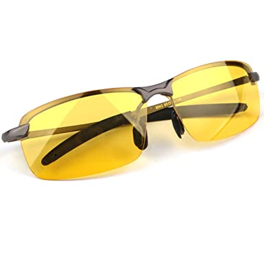 3b096f7b94 Best Night Driving Glasses HD Night Vision Polarized Safety Glasses for Night  Driving Anti-Glare