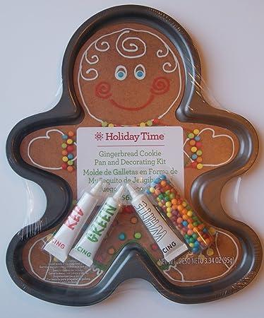 large christmas gingerbread man cookie pan - Christmas Gingerbread Men Decorations