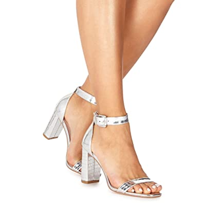 Faith DORITA - High heeled sandals - silver MaA3M4