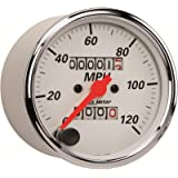 AUTO METER 1396 Arctic White Mechanical Speedometer, 3.125 in.
