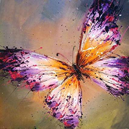 5D Diamond Painting Staron Butterfly DIY Diamond Embroidery Painting Cross Stitch Kit 5D Diamond Embroidery Rhinestone Painting DIY Art Crafts /& Sewing Wall Decor Butterfly