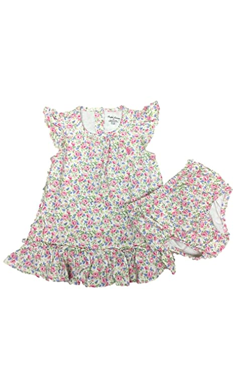 e6121975e1 RALPH LAUREN Baby Girls 2-Piece Floral Top & Shorts Set (6M): Amazon.in:  Baby