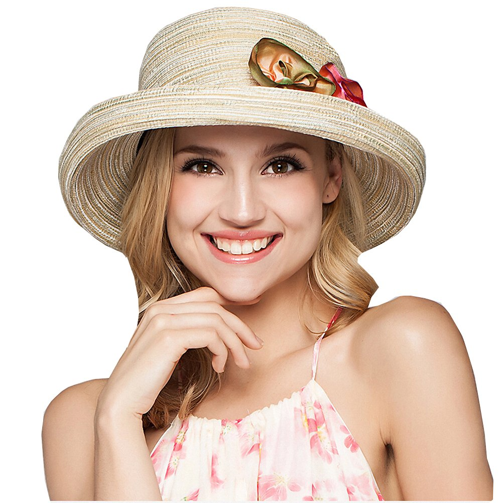 Maitose Trade  Womens Foldable Sun Protection Gardening Sun Hat Beige at Amazon  Women s Clothing store  30358d645568