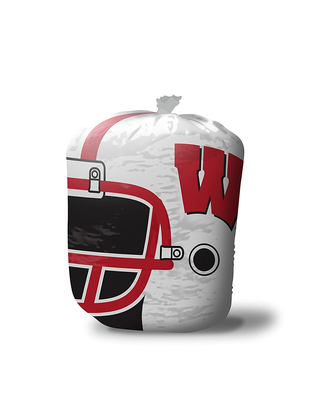 Fabrique Innovations, Inc NCAA Unisex Stuff-a-Helmet Lawn & Leaf Bag Large/57 gallon Black 7614IA