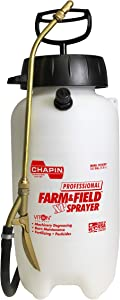 Chapin International Professional Farm & Field Viton Sprayer for Fertilizer, Herbicides and Pesticides Chapin 21240XP 2-Gallon Profes, 2 gallon