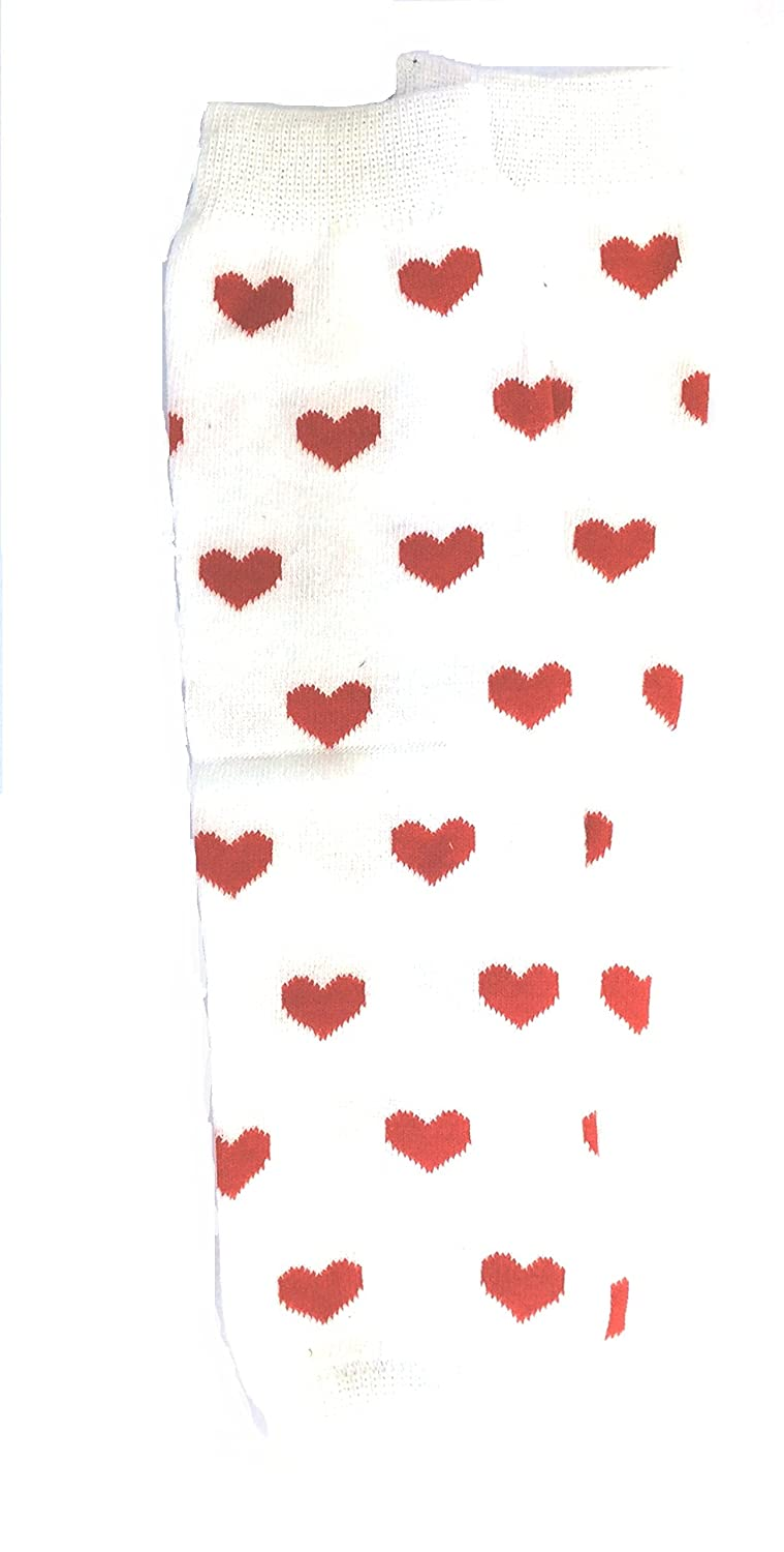 mdb Baby Mädchen (0-24 Monate) Stulpe One size Pink with hearts