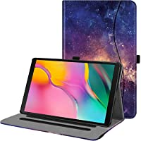 """Fintie Case for Samsung Galaxy Tab A 10.1"""" (2019) Model SM-T510/T515, Multi-Angle Viewing Stand Cover with Packet, Galaxy"""