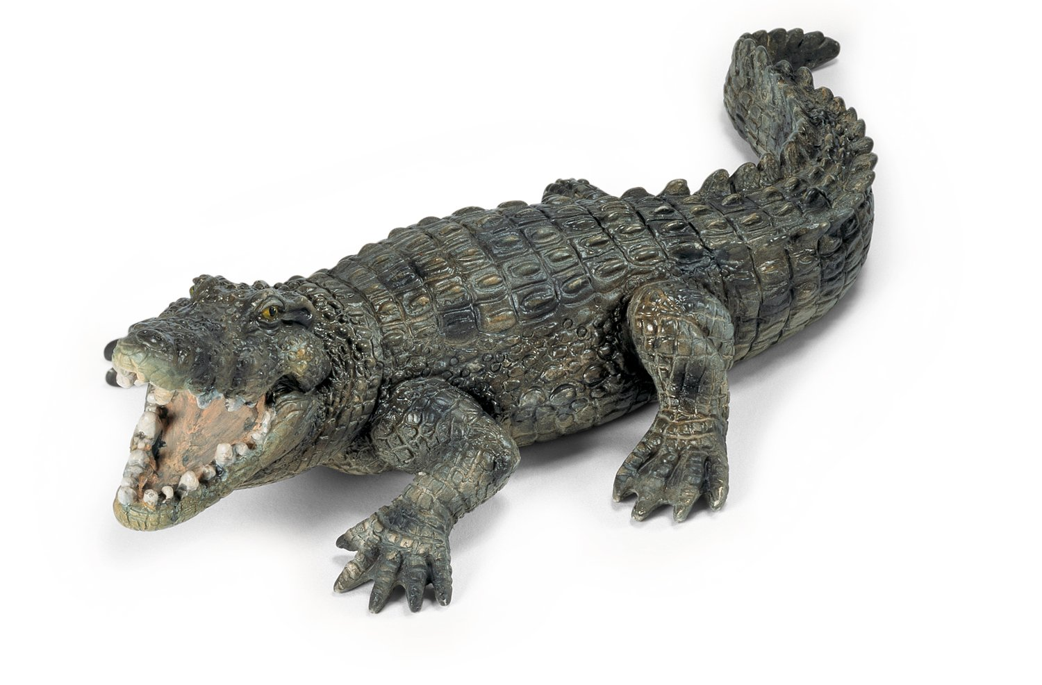 amazon com schleich crocodile schleich toys games