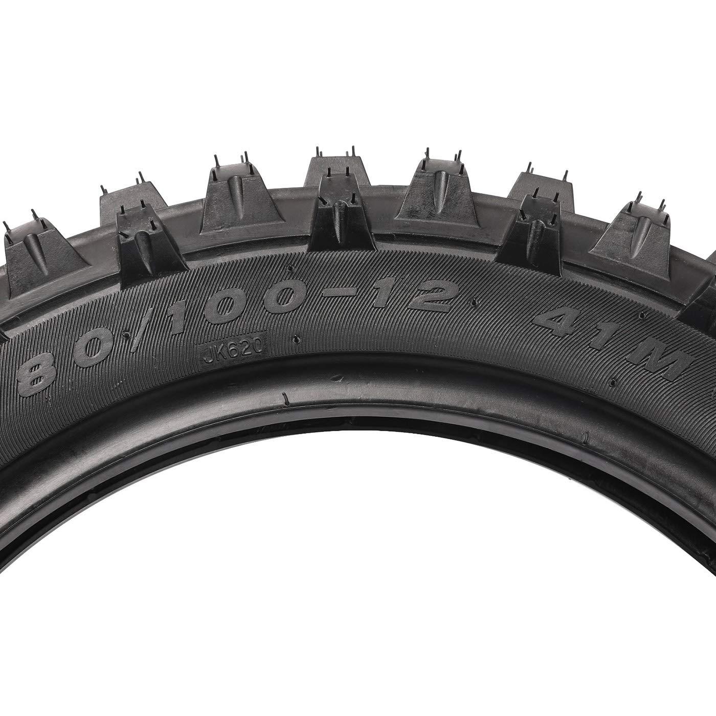 ZXTDR Front /& Rear Tire Tube 2.50-14 14 /& 3.00-12 12 Tyre Innertube Set for Off Road Motorcycle