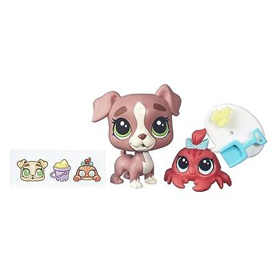 Littlest Pet Shop Calla Boxton & Blossom Clawson: Toys & Games