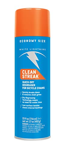 White Lightning Clean Streak - Bicycle Degreaser – Aerosol