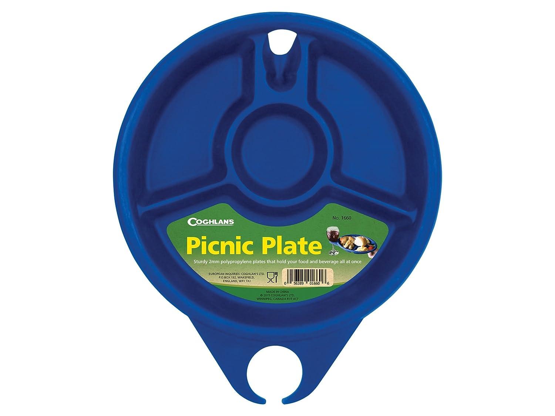 Coghlan 'sピクニックプレートポリプロピレンブルー B07B75RHNZ