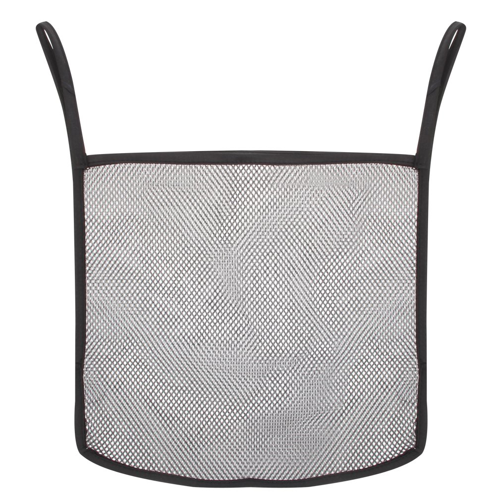 Domybest Baby Newborn Stroller Pushchair Net Carrying Bag Mesh Hanging Organizer Storage Bag for Diaper (Black)
