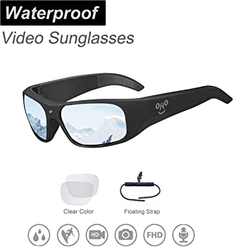 OhO Sunshine Waterproof 1080P Full HD Video Recording Camera Sunglasses