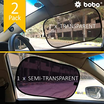 Fits all Cars Best Universal Car Window Sun Shade UV Protection 2 Pcs Pack