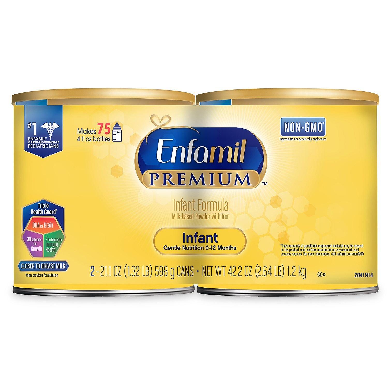 Product of Enfamil Premium Infant Formula Powder (21.1 Oz, 2 Pk.) - Baby Formula [Bulk Savings] by Enfamil (Image #1)