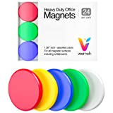 24-piece Veemoh Heavy duty Office magnets pack