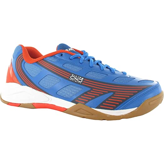 HI-TEC V-LITE INFINITY INDOOR Mens Trainers (13 US) (Blue