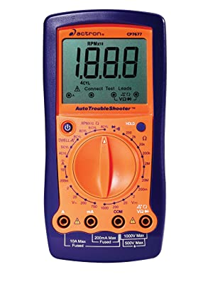 Actron CP7677 AutoTroubleShooter – Digital Multimeter and Engine Analyzer