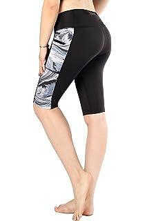 23fbb36615 Sugar Pocket Women Yoga Pants Workout Leggings Half Tights with Side Pockets