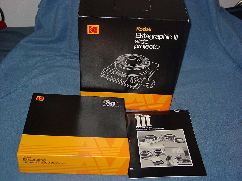 Kodak Ektagraphic III AT Slide Projector